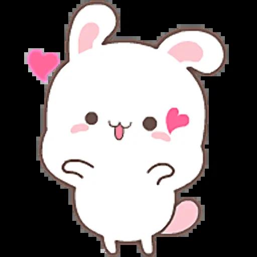 HappyRabbit-Sticker messages sticker-0