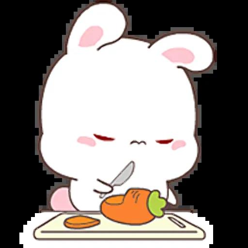 HappyRabbit-Sticker messages sticker-3