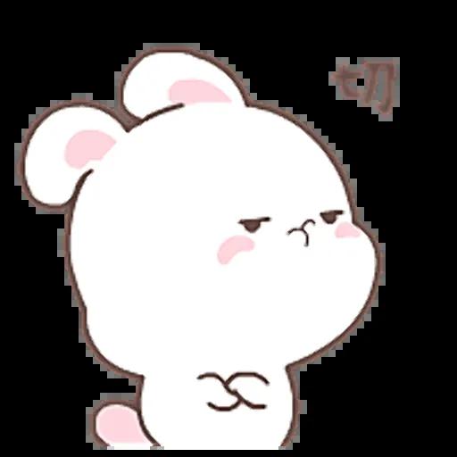 HappyRabbit-Sticker messages sticker-7