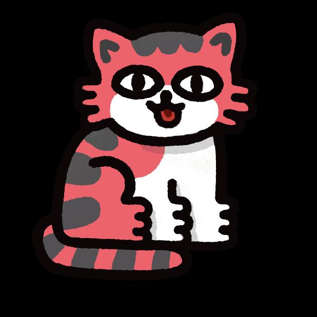 Catbeats Sticker Pack messages sticker-4