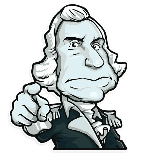 Presidents of USA Stickers messages sticker-0