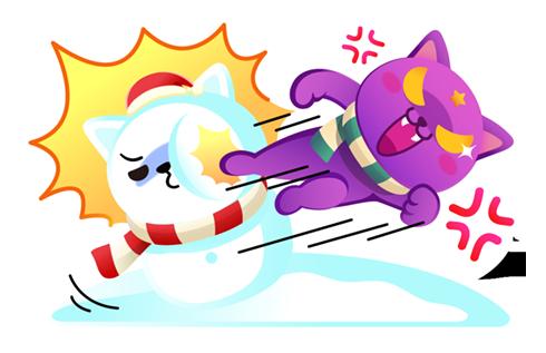 Mystical Winter Wonderland messages sticker-2