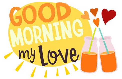 Morning Love messages sticker-7