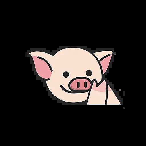 PigPig messages sticker-9