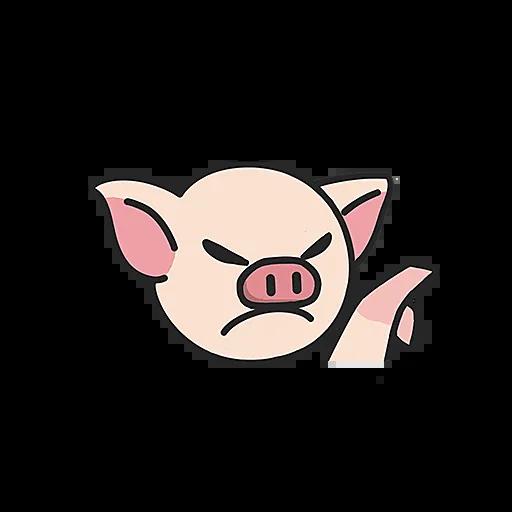 PigPig messages sticker-8