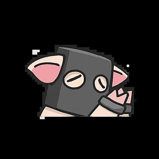 PigPig messages sticker-5