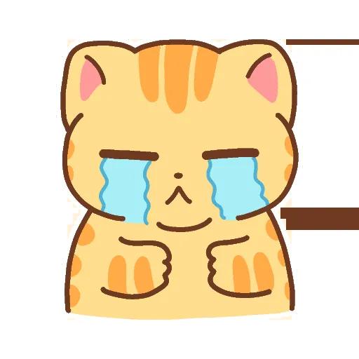 CuteCat messages sticker-9