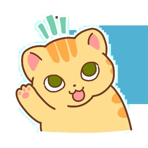 CuteCat messages sticker-2