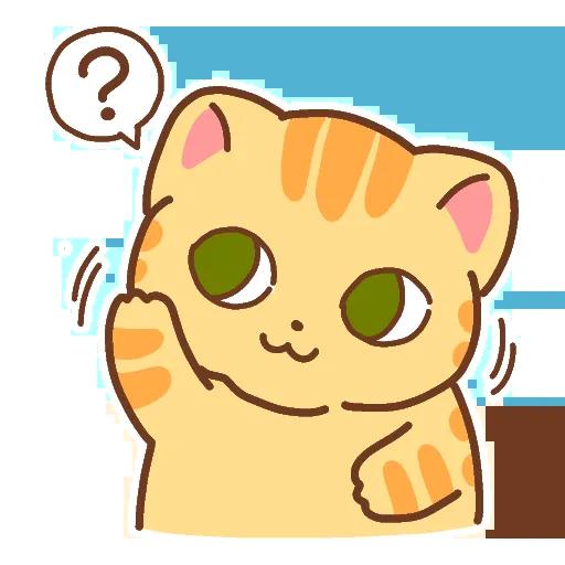 CuteCat messages sticker-5