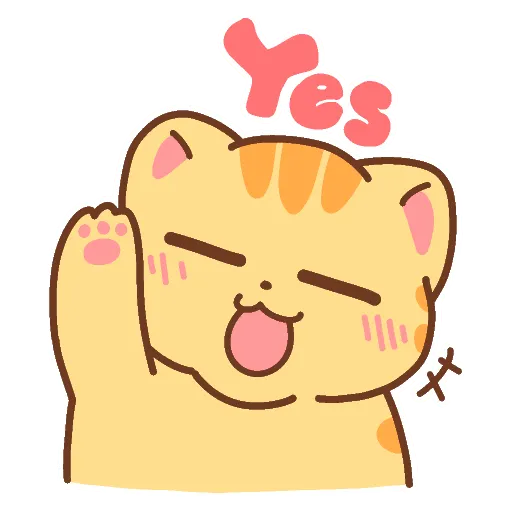 CuteCat messages sticker-8