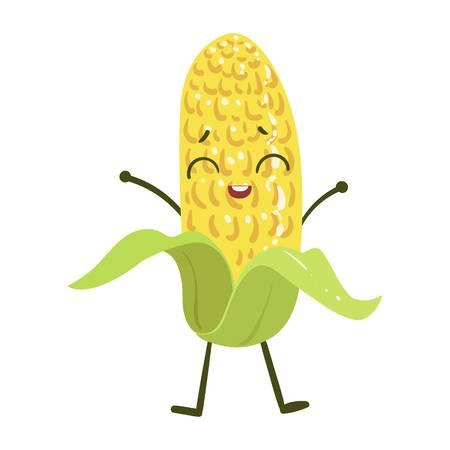 玉米丰收-快乐的玉米Emoji messages sticker-10