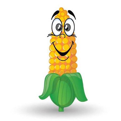 玉米丰收-快乐的玉米Emoji messages sticker-3