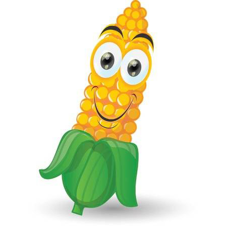 玉米丰收-快乐的玉米Emoji messages sticker-4