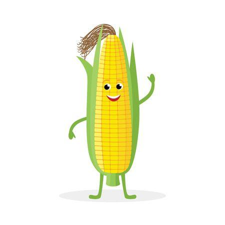 玉米丰收-快乐的玉米Emoji messages sticker-8