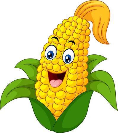 玉米丰收-快乐的玉米Emoji messages sticker-5
