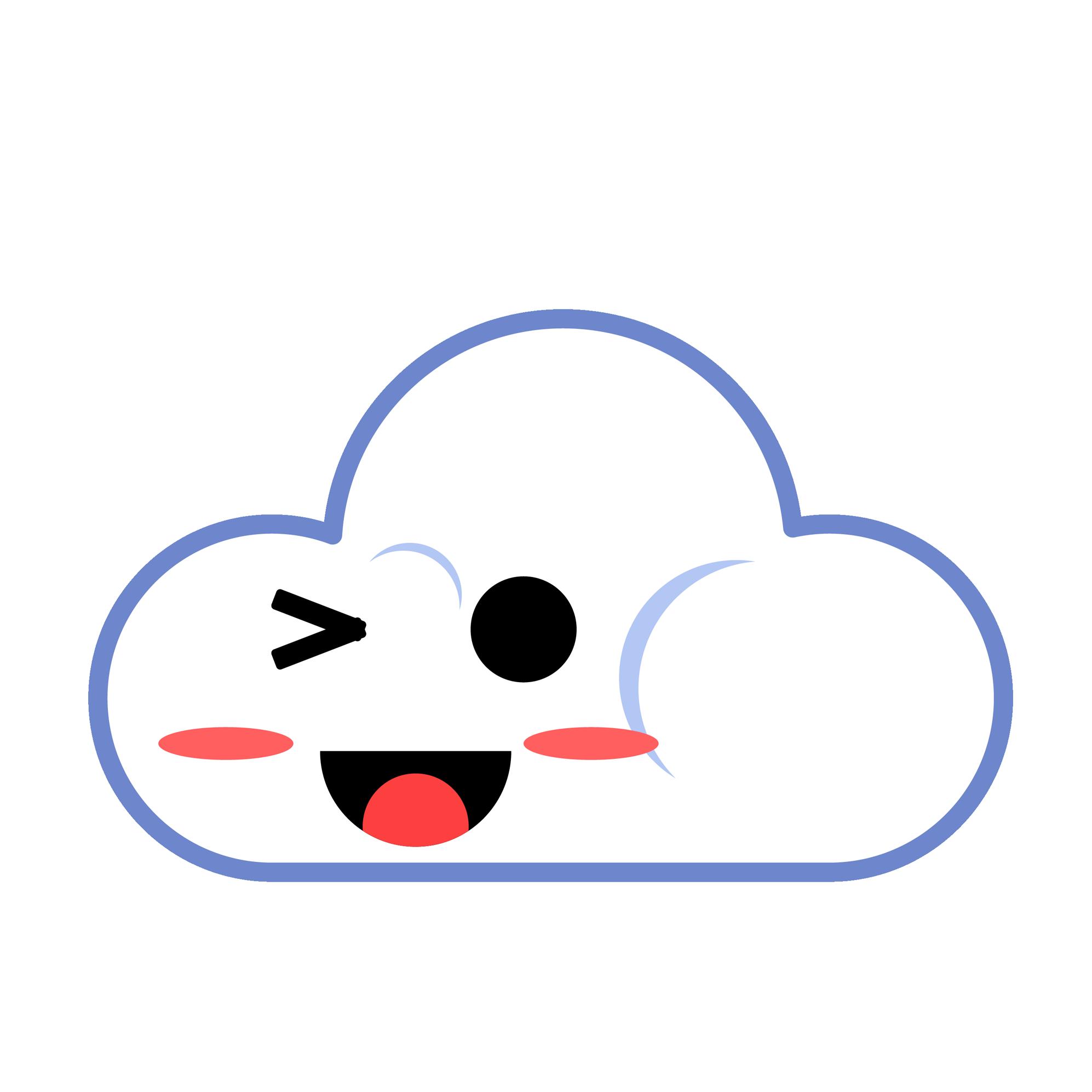 云山电子 - 云山Emoji messages sticker-5