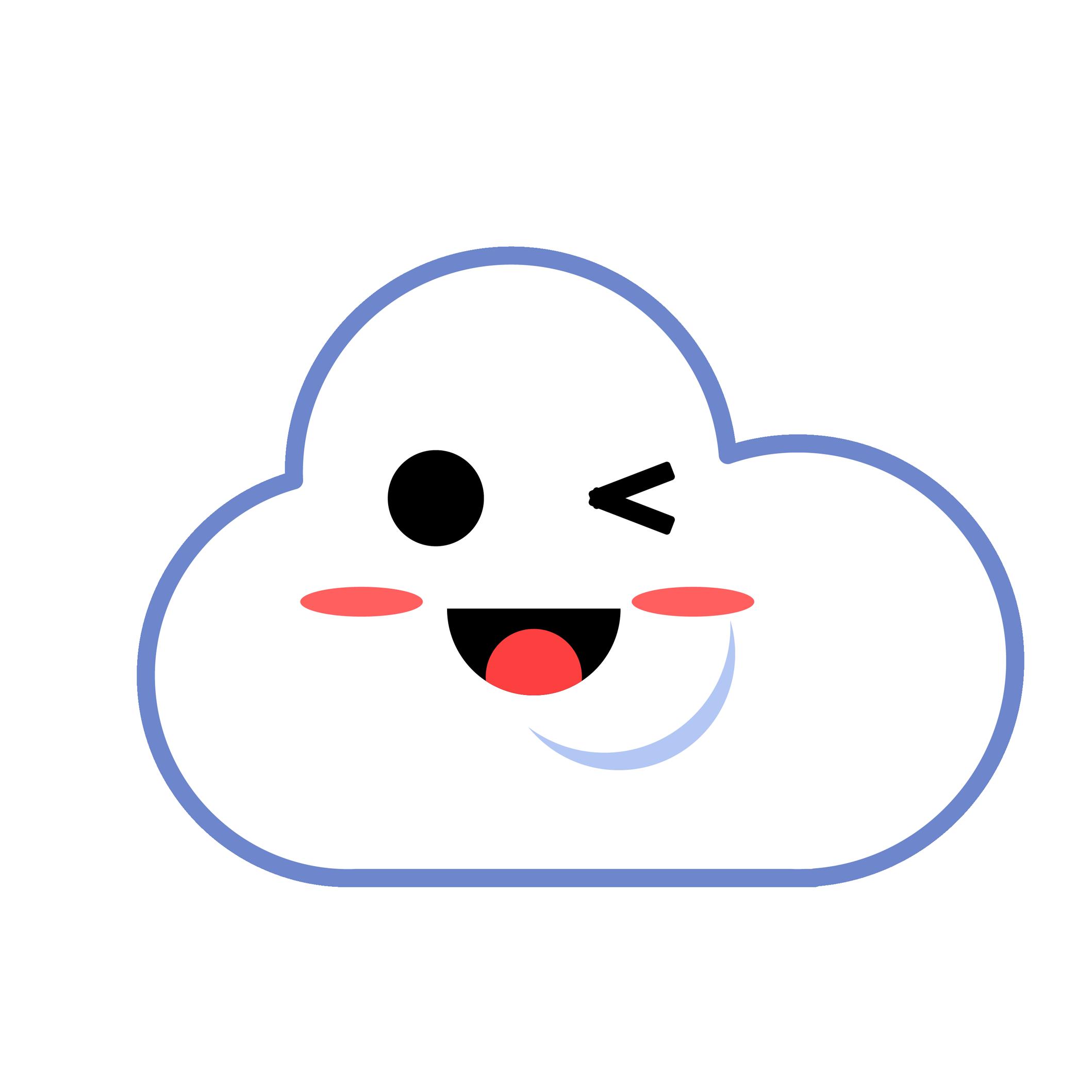 云山电子 - 云山Emoji messages sticker-4