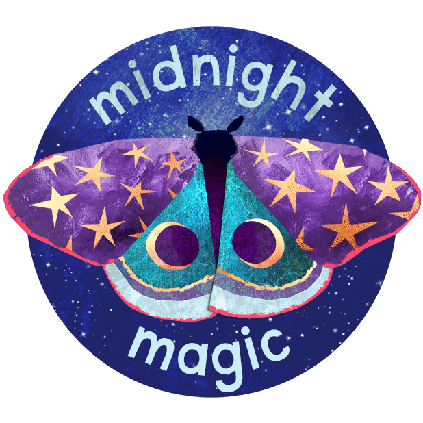 Midnight Moth Bedtime Stickers messages sticker-0