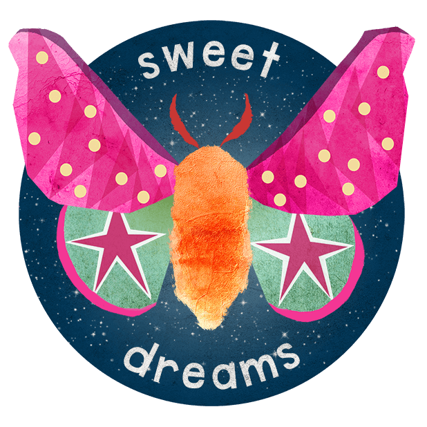Midnight Moth Bedtime Stickers messages sticker-4