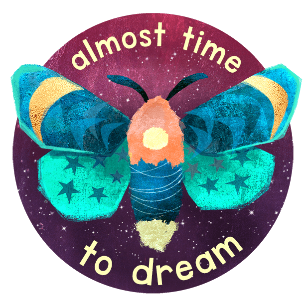 Midnight Moth Bedtime Stickers messages sticker-5