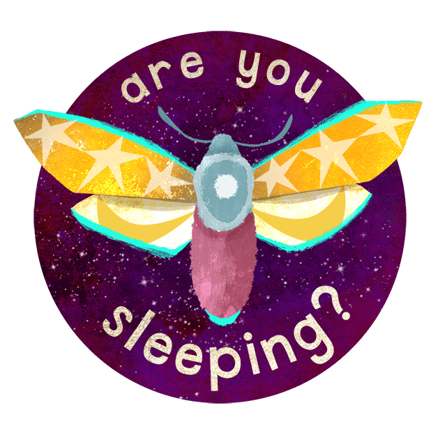 Midnight Moth Bedtime Stickers messages sticker-1