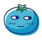 玉米炒饭-茄子Emoji messages sticker-4
