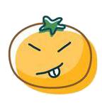 玉米炒饭-茄子Emoji messages sticker-2