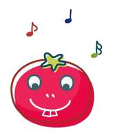 玉米炒饭-茄子Emoji messages sticker-1