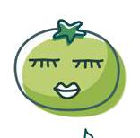 玉米炒饭-茄子Emoji messages sticker-8