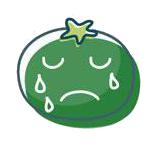 玉米炒饭-茄子Emoji messages sticker-3
