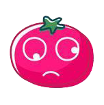 玉米炒饭-茄子Emoji messages sticker-7