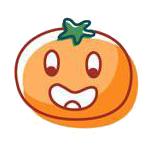 玉米炒饭-茄子Emoji messages sticker-10