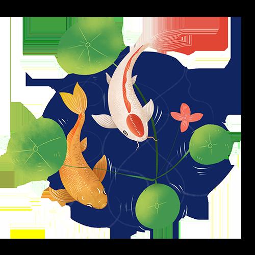 鲤鱼转 messages sticker-6