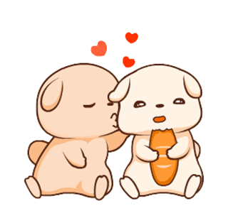 HappyDailyLifeDog messages sticker-10