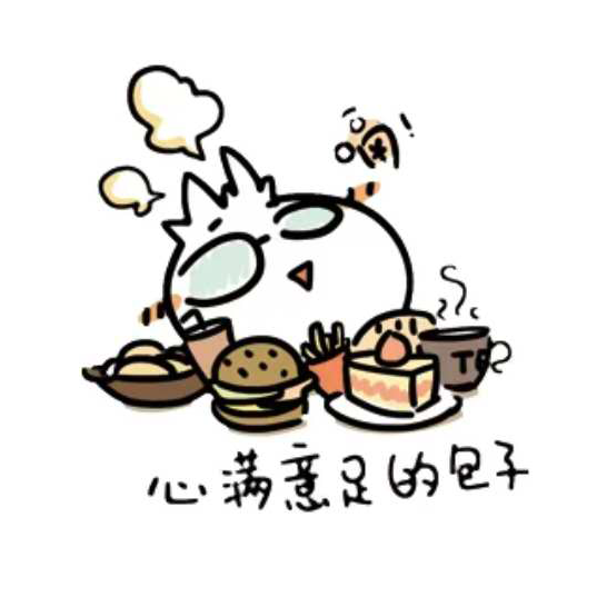潮流包包-Trendy Buns messages sticker-0