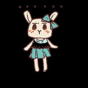 俏碧兔的生活 messages sticker-0