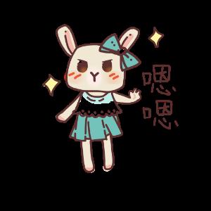 俏碧兔的生活 messages sticker-7