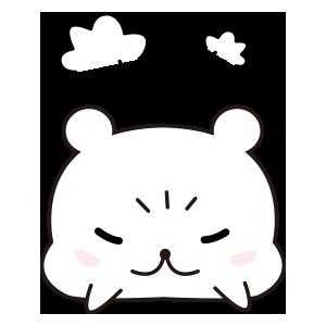 LCB-Little Cute Bear messages sticker-5