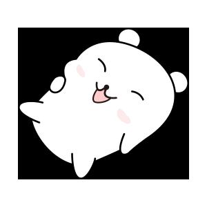 LCB-Little Cute Bear messages sticker-10