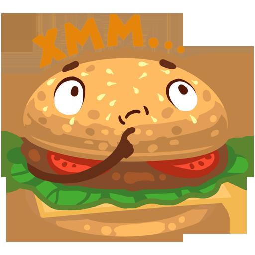 Stickers: Crazy Foods! messages sticker-6