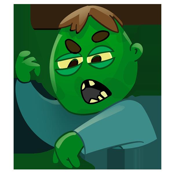 Zombie Haters: Survivors messages sticker-2