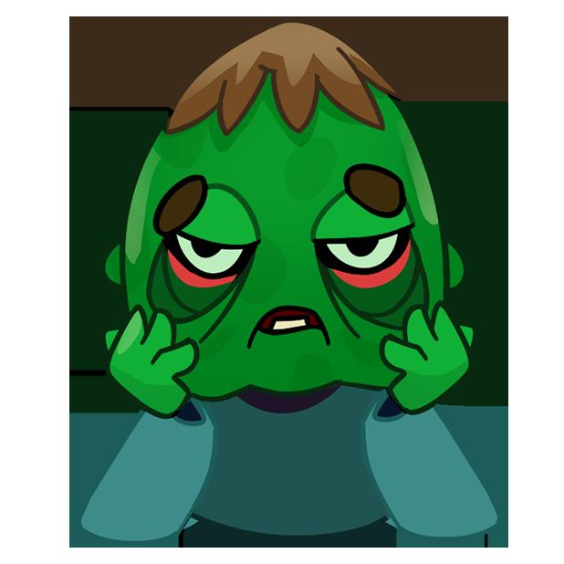 Zombie Haters: Survivors messages sticker-5