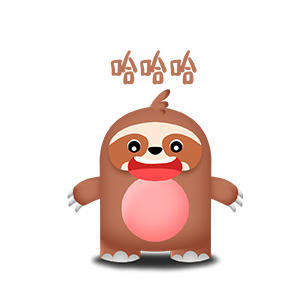 幼稚的猫头鹰 messages sticker-11