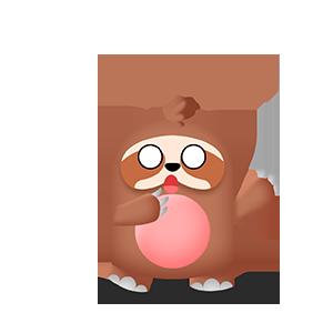 幼稚的猫头鹰 messages sticker-2