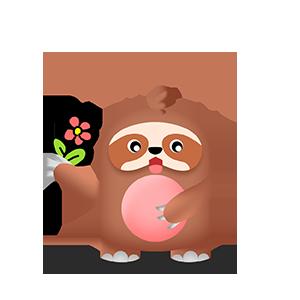 幼稚的猫头鹰 messages sticker-10