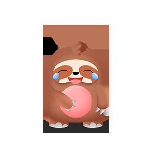 幼稚的猫头鹰 messages sticker-8