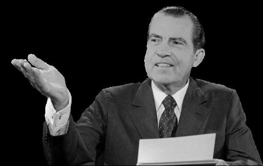Richard Nixon messages sticker-7