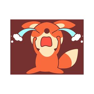 OrangeFoxShow messages sticker-11