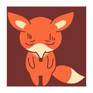OrangeFoxShow messages sticker-8