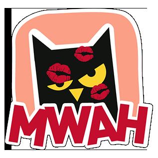 Mèo Đen messages sticker-7
